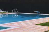 PIscina interrata con trampolino