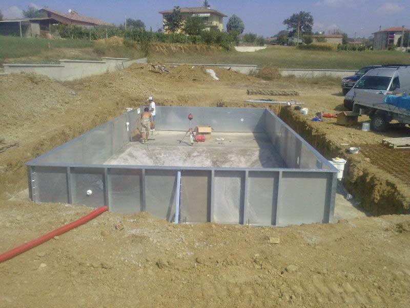fasi realizzazione piscina come costruire una piscina